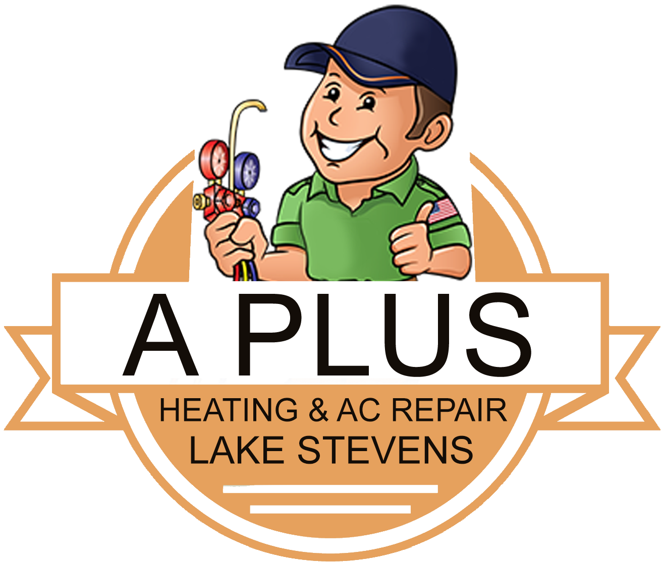 A plus heating and. Professional clipart emergency service