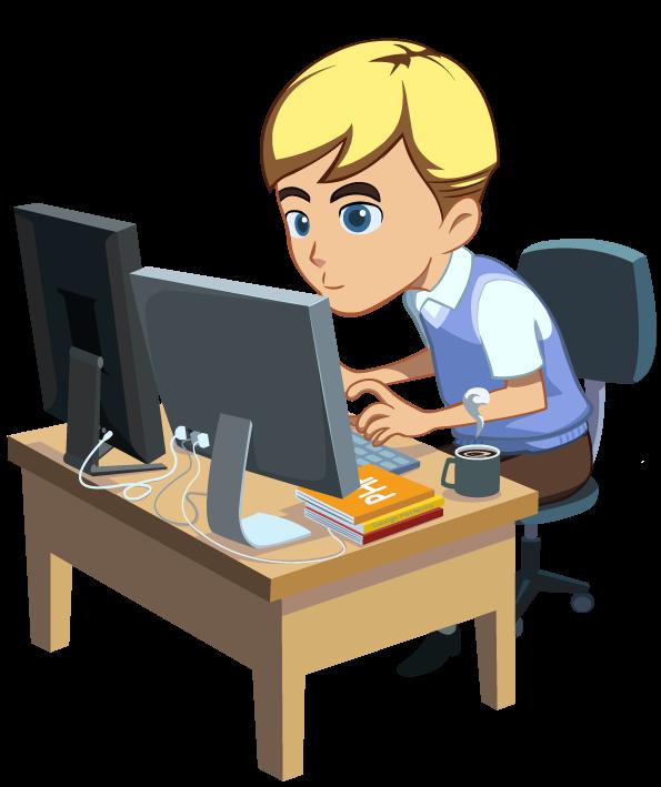 Developer png transparent images. Engineer clipart software designer