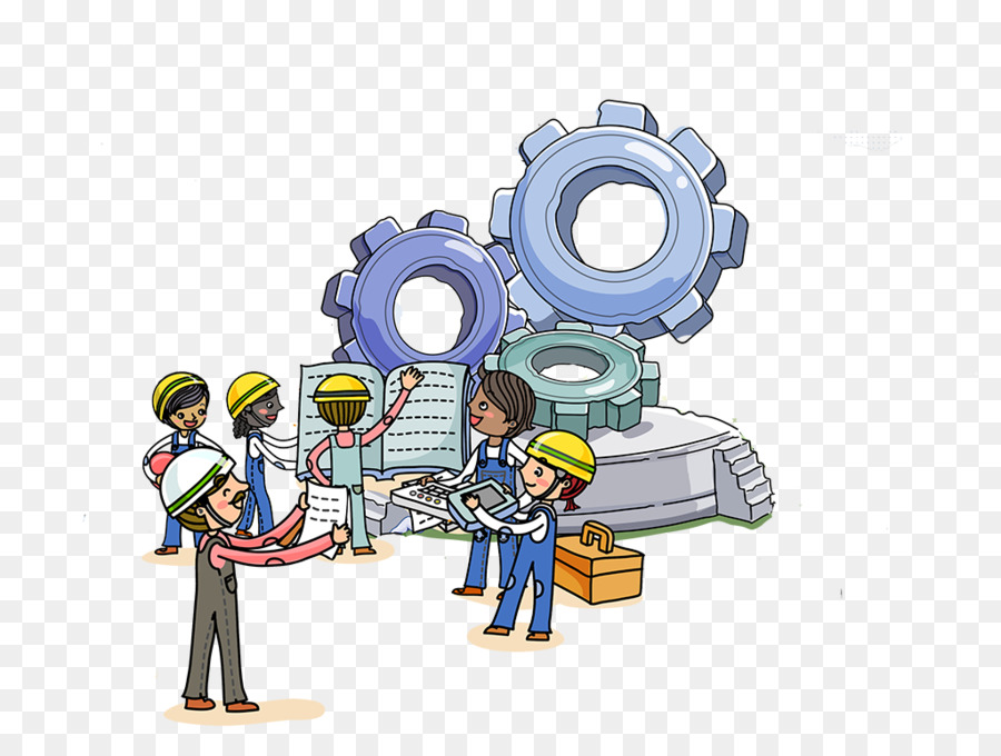 Cartoon technology . Engineering clipart systems engineering