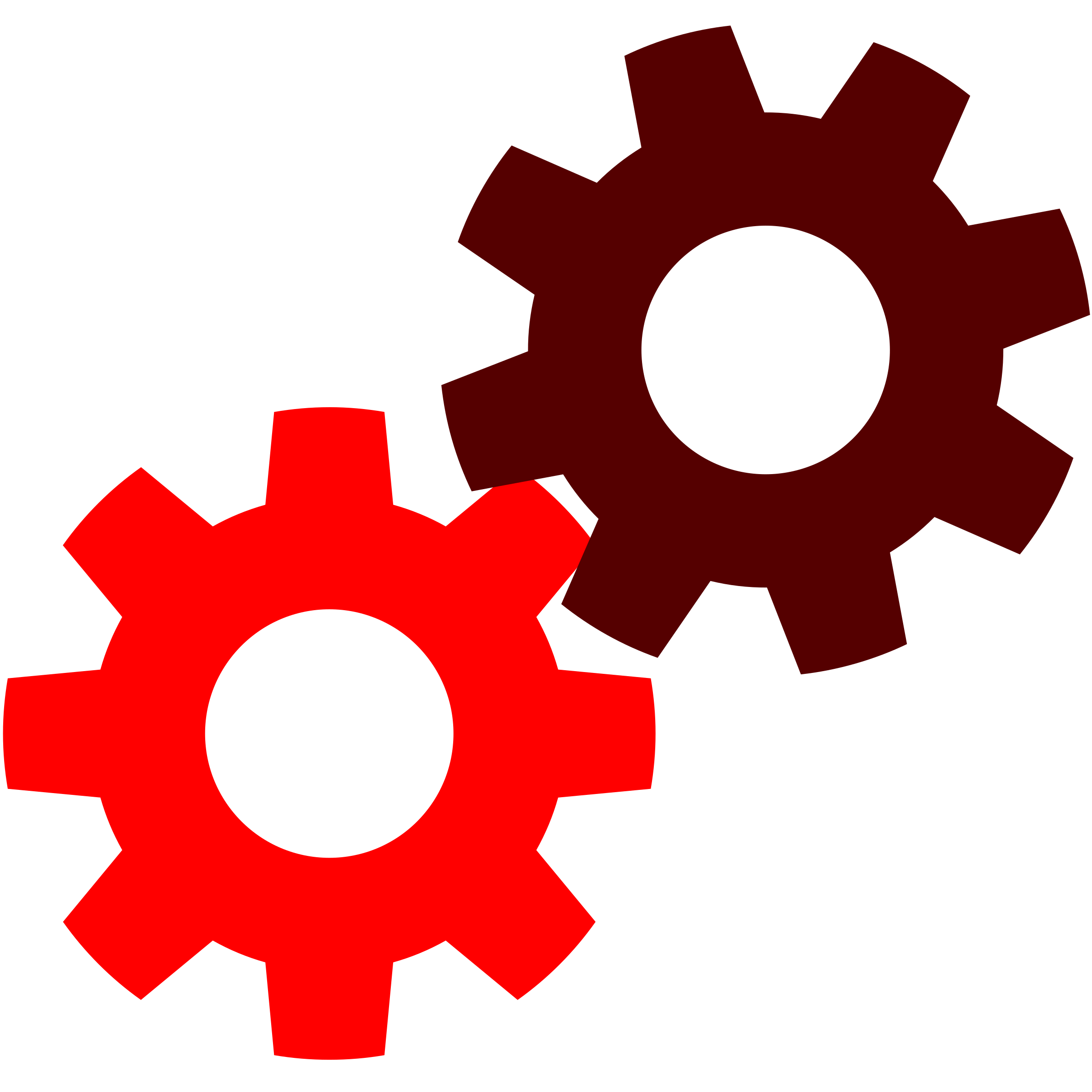 Gear clipart red. Writechnical what is mechanical