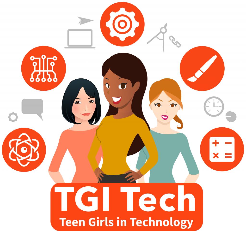 Teen girls in technology. Engineer clipart woman engineer