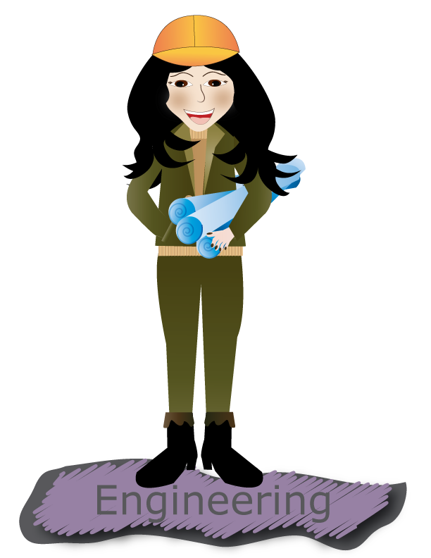 Wise mentors center for. Engineer clipart woman engineer