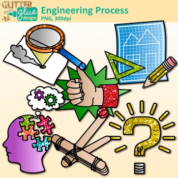 Engineering clipart. Stem process clip art