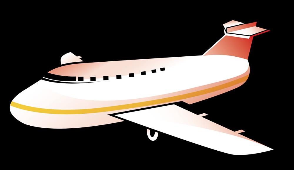 Airplane airplain cartoon clip. Engineering clipart animated