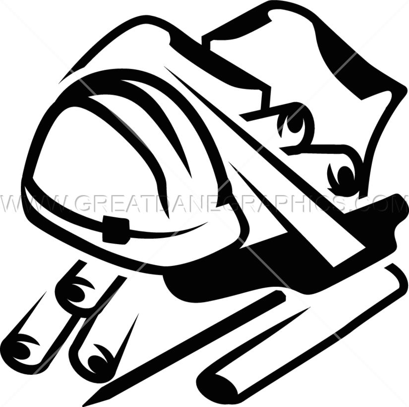 Engineering clipart black and white. Table production ready artwork