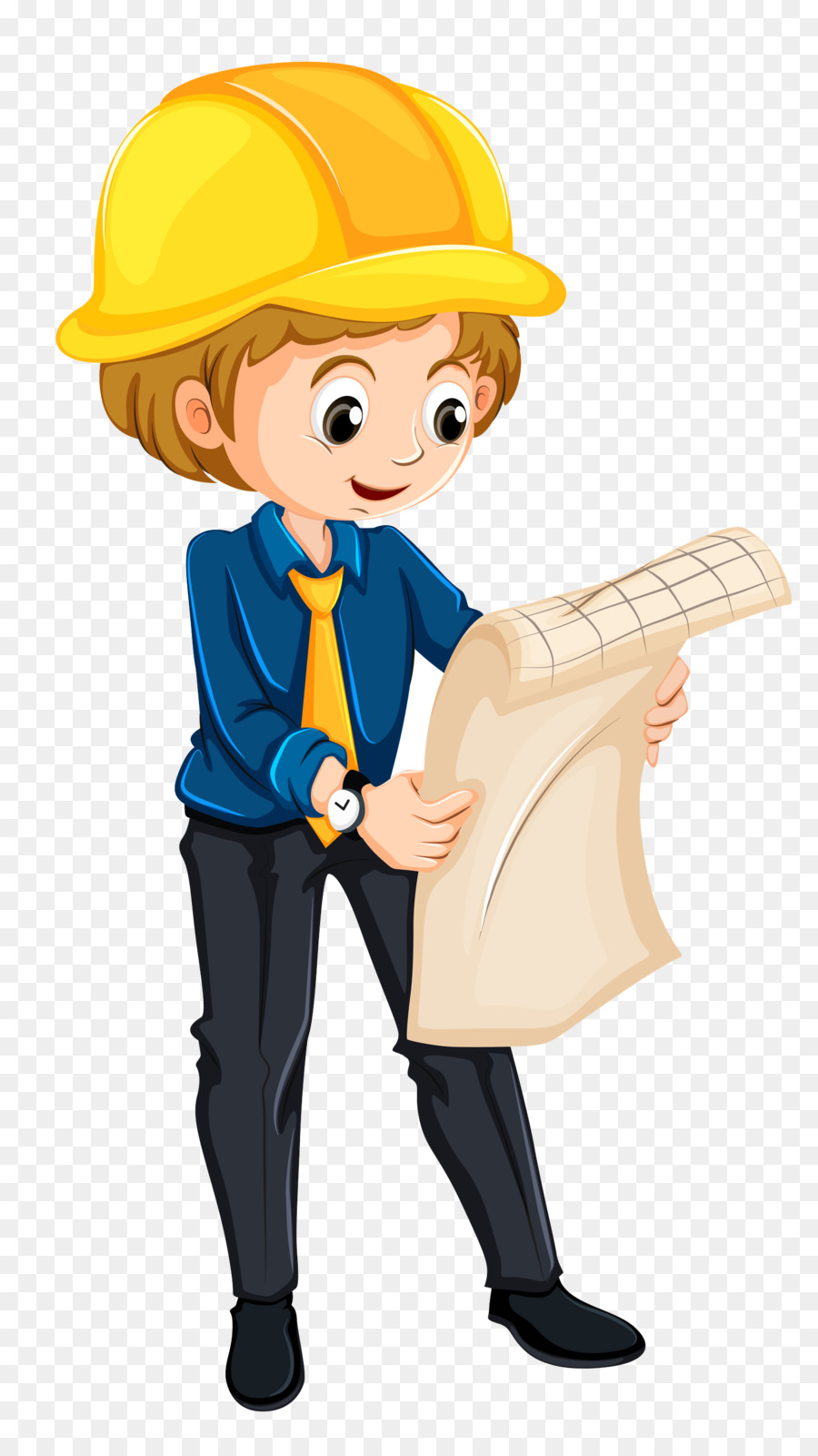 Cartoon png download free. Engineering clipart boy