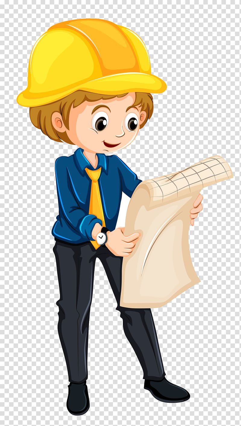 Transparent background png . Engineering clipart child engineer