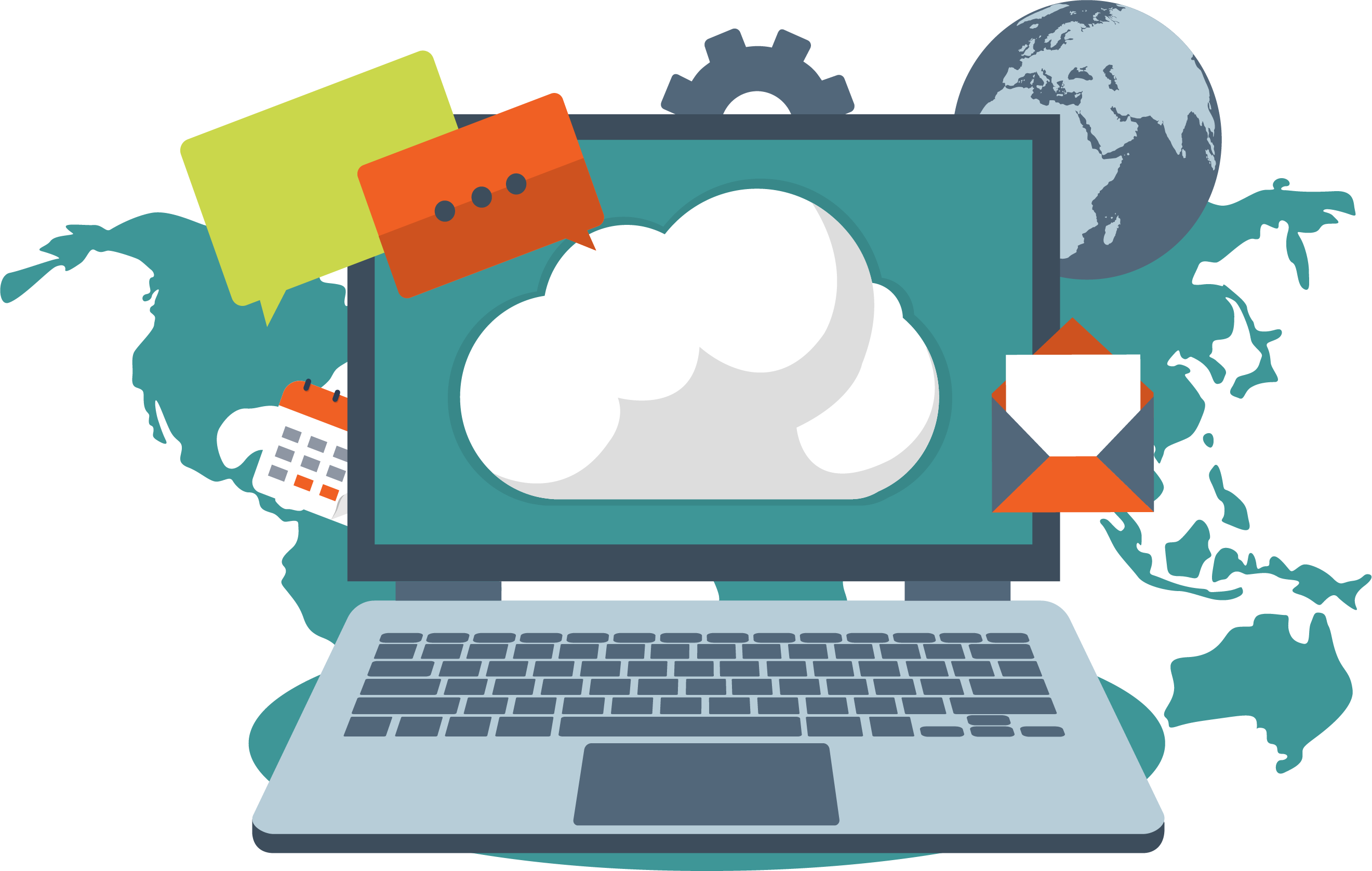 Cloud computing storage amazon. Engineering clipart communication engineering