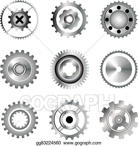 Engineering clipart engineering tool. Vector art set of