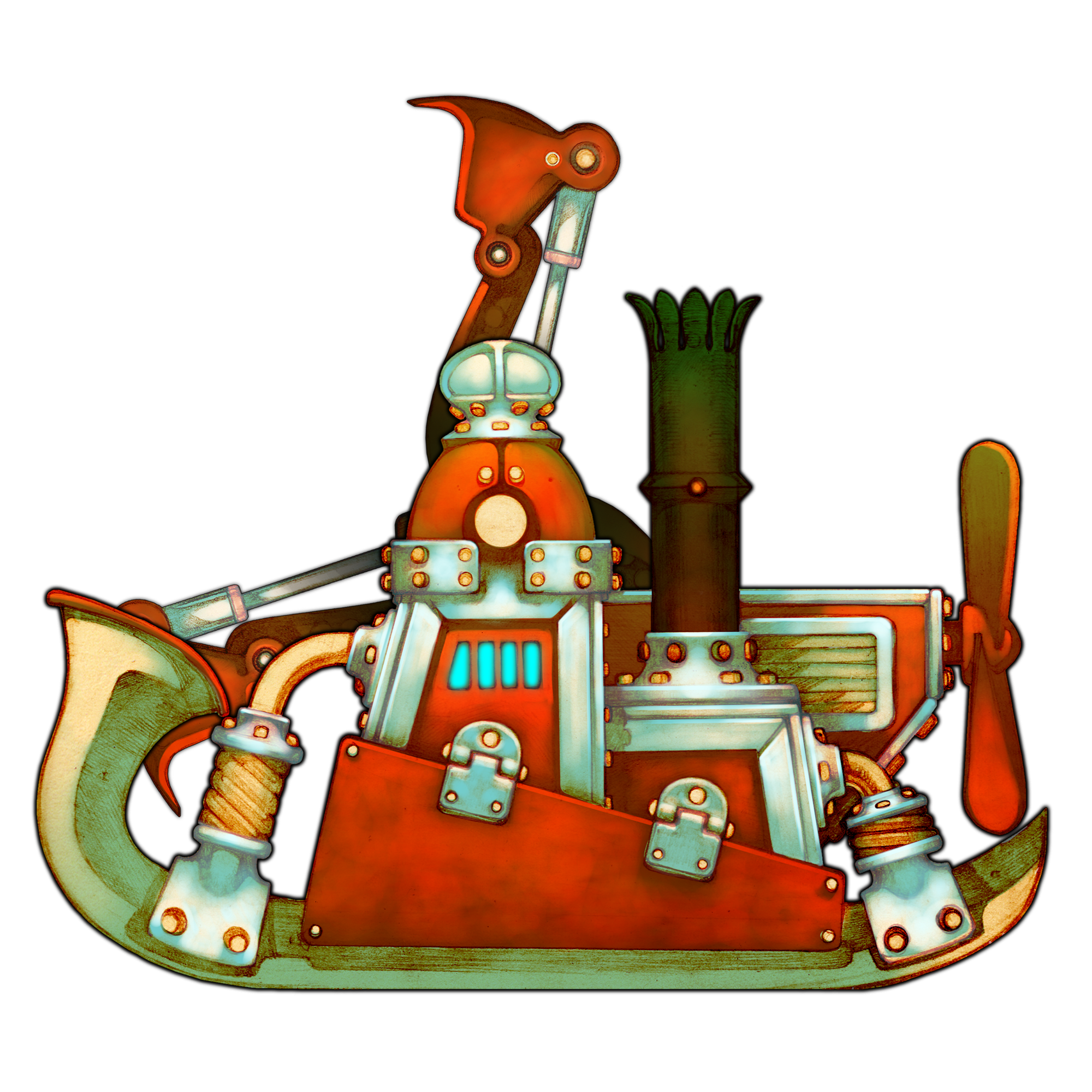 Steampunk clipart invention discovery. Gremlins inc appid steam