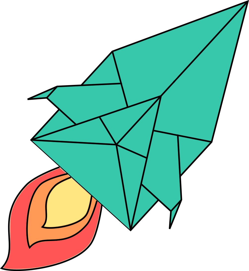 Spaceship clipart physics. Folding the mathematics of