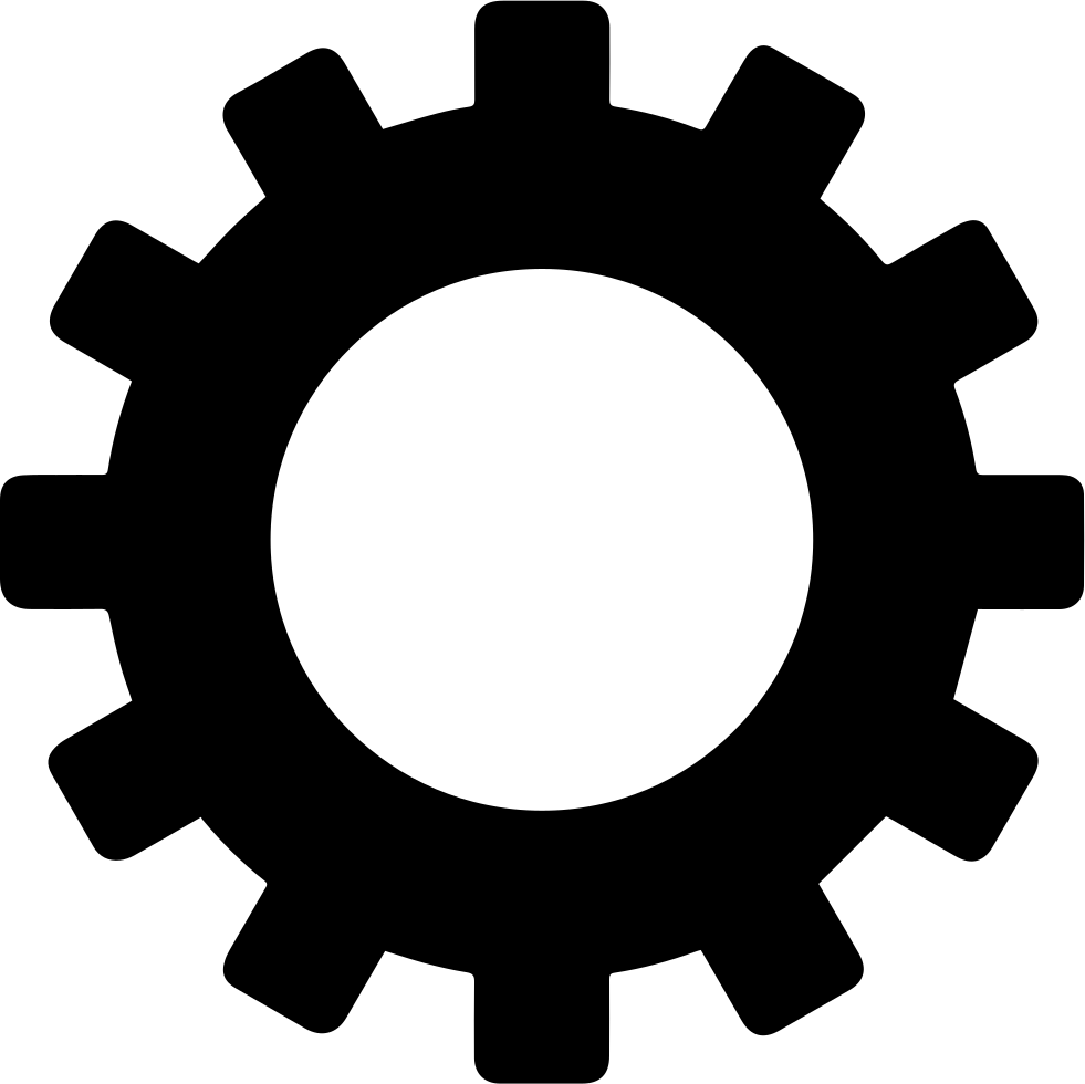 Gears clipart svg. Gear png icon free