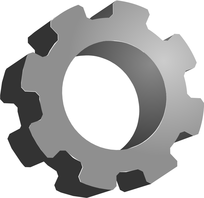 collection of mechanical. Gear clipart environment
