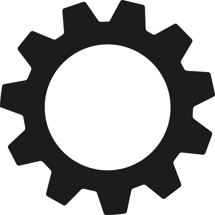 Gear clipart pulley gear. Free image on pixabay