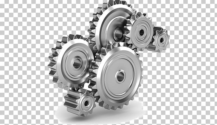 Gear mechanical transmission png. Engineering clipart machine part