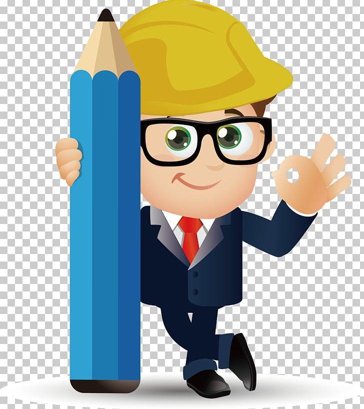 Cartoon png civil . Engineering clipart male engineer