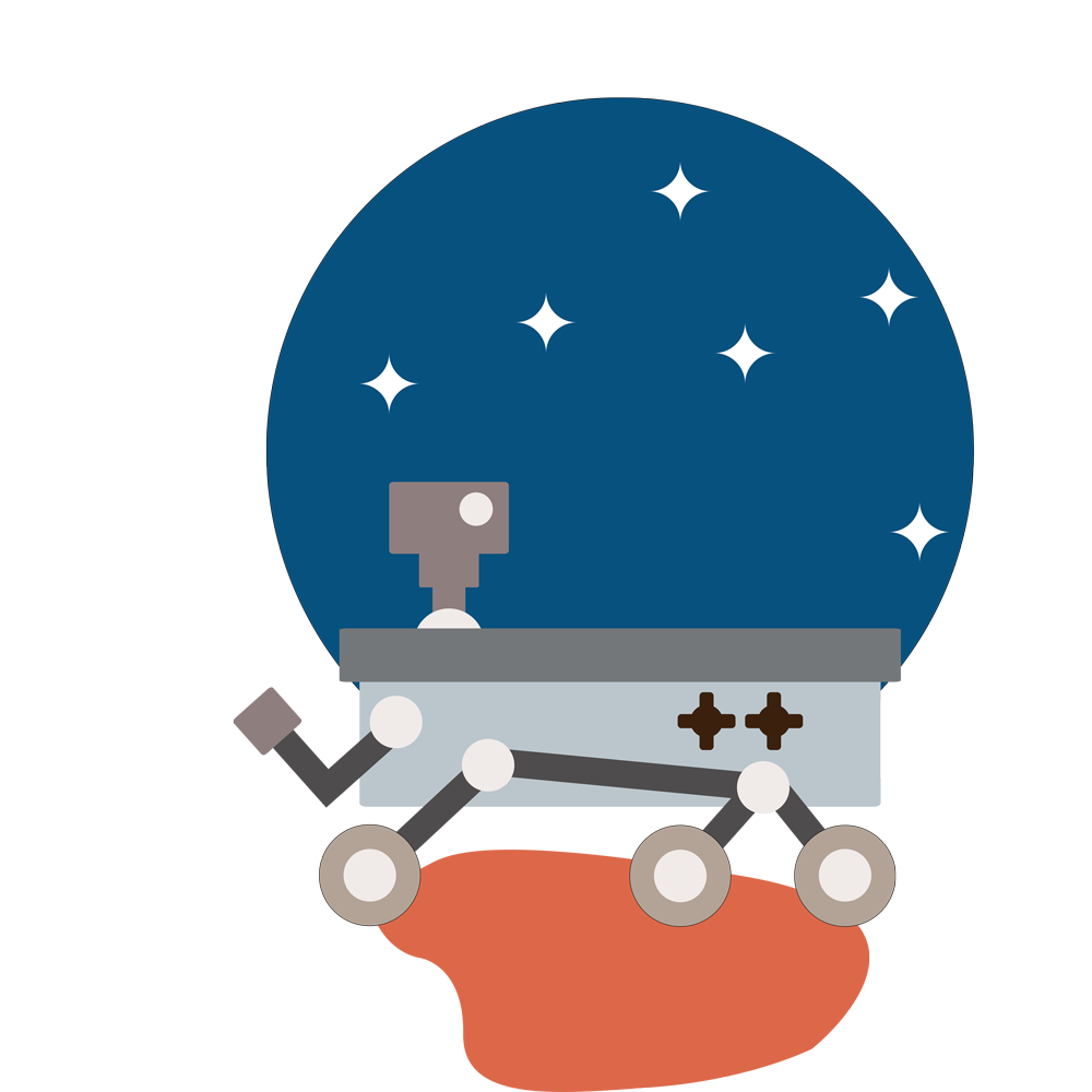 Planet clipart cute. Home mars rover manipal