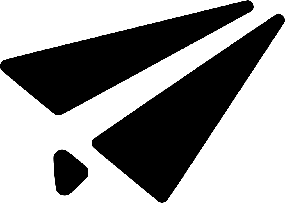 Mail Sent Send Envelope Plane Paper Airplane Svg Png Icon Free