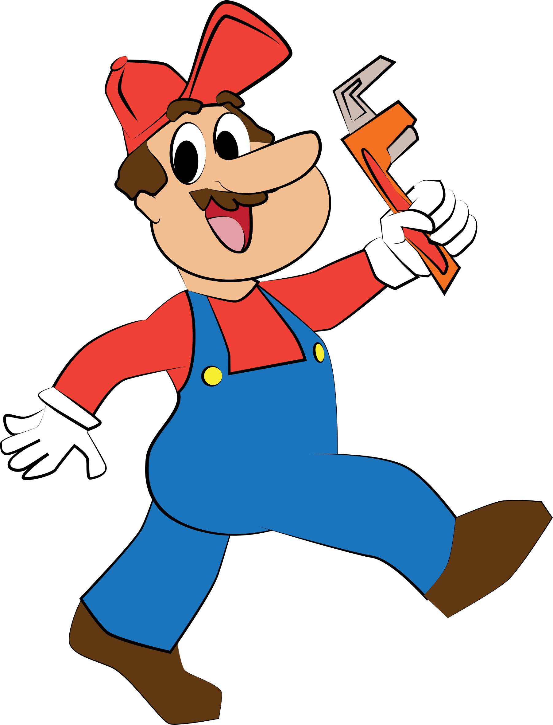collection of png. Guy clipart plumbing