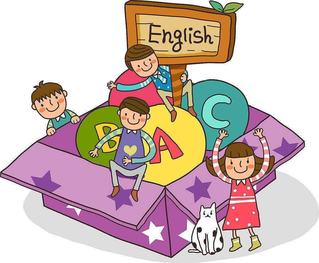 English clipart. Kids learning letters songs