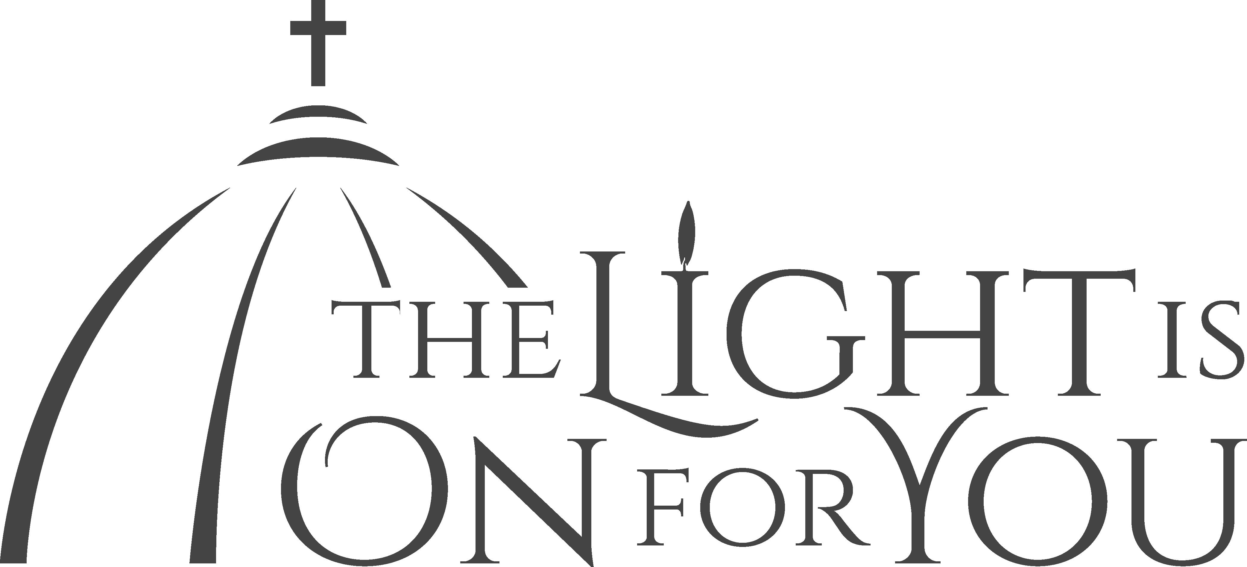 The light is on. Pastor clipart catholic community
