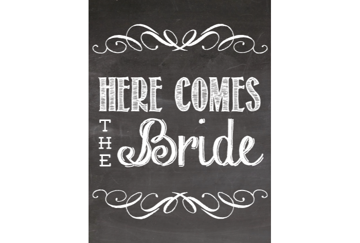 Bridal style sign signitup. Tooth clipart chalkboard