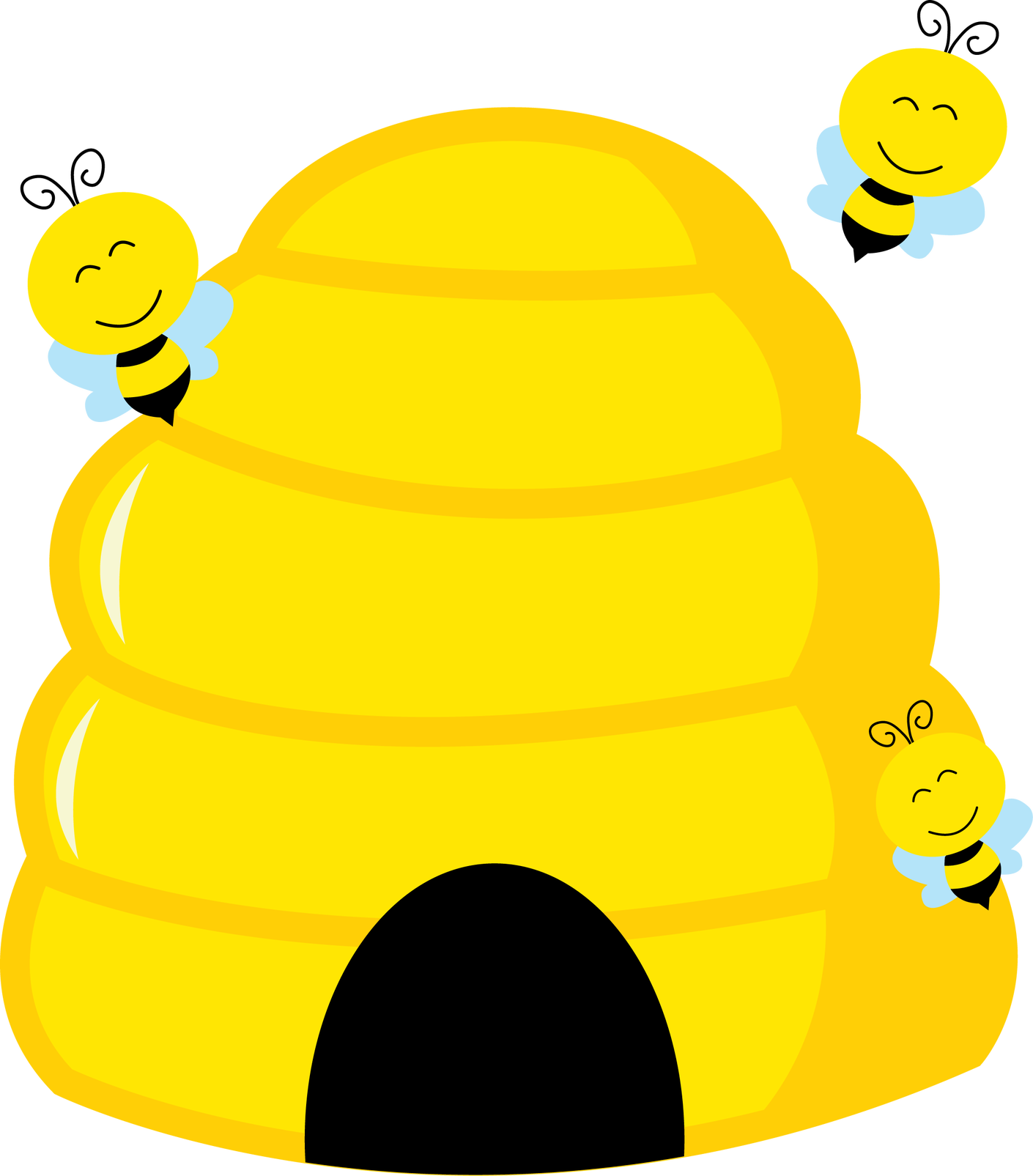 Honeycomb clipart bee cell. Imagens da abelhinha pinterest