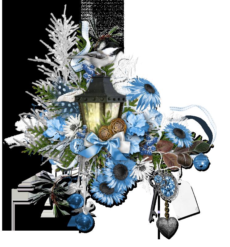 Poinsettias clipart candlestick. Scrapbook png cluster freebies