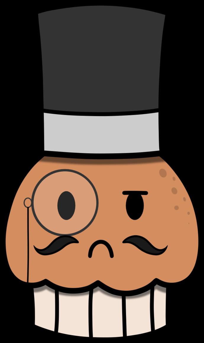 Muffin clipart muffin man. English by cartoonynerd on