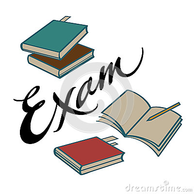 Half yearly st francis. English clipart english exam