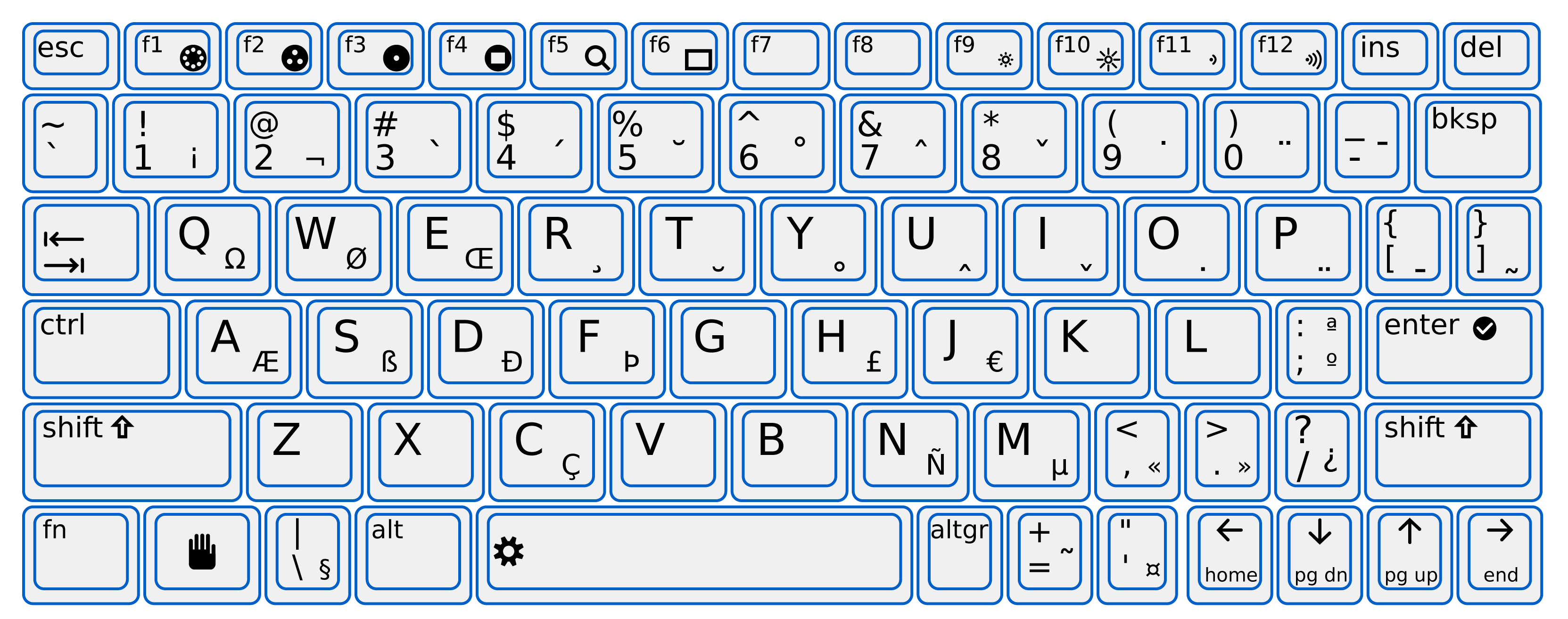 Printable key template for. Keyboard clipart print