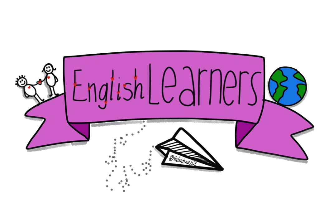 Study clipart independent learner. English learners elementary language