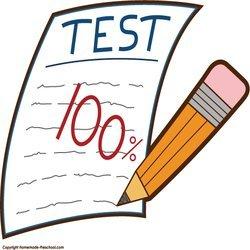 Portal . Test clipart english test