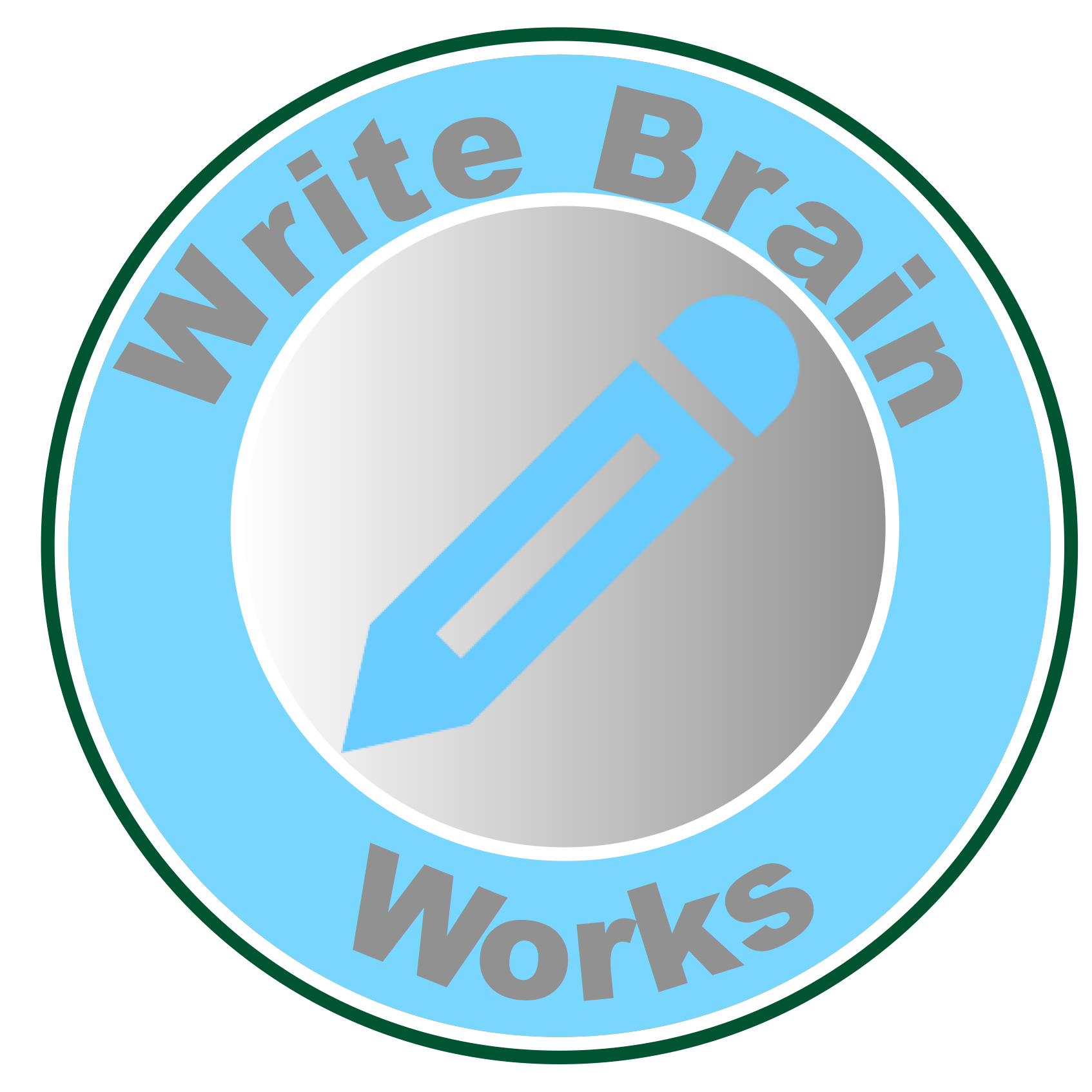 Taste clipart action word. Write brain works everything