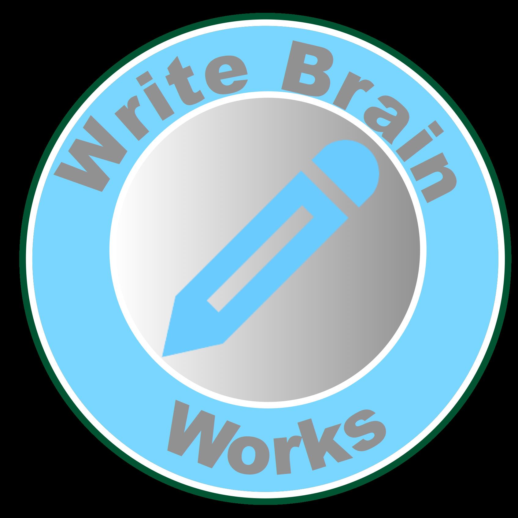 Grammar clipart auxiliary verb. Write brain works everything