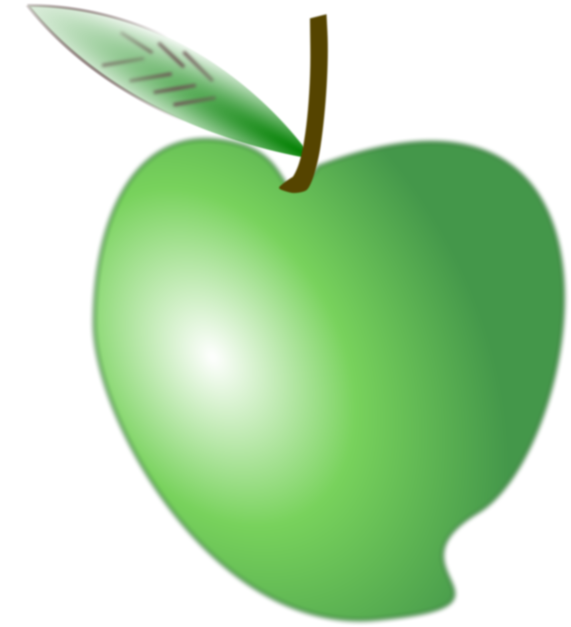 Mango clipart apple. File green svg wikimedia