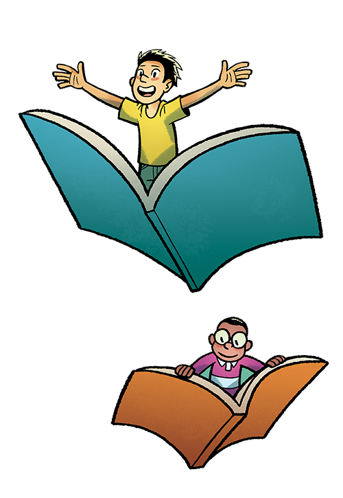 English clipart reading challenge. Boysonbooks png