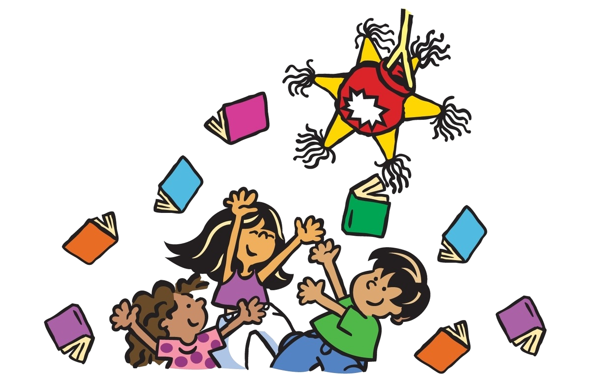 Fis in the press. English clipart reading challenge