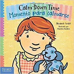 English clipart toddler book. Calm down time momento