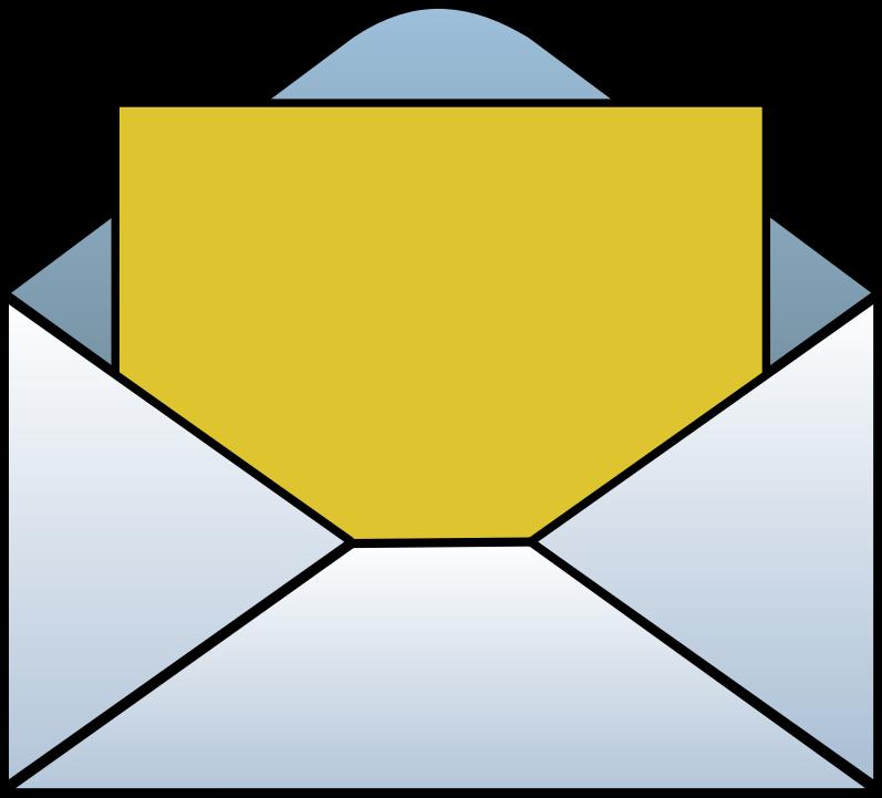 Envelope clipart. Clip art free panda