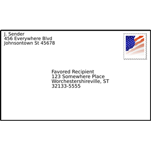 Free cliparts download clip. Envelope clipart addressed envelope