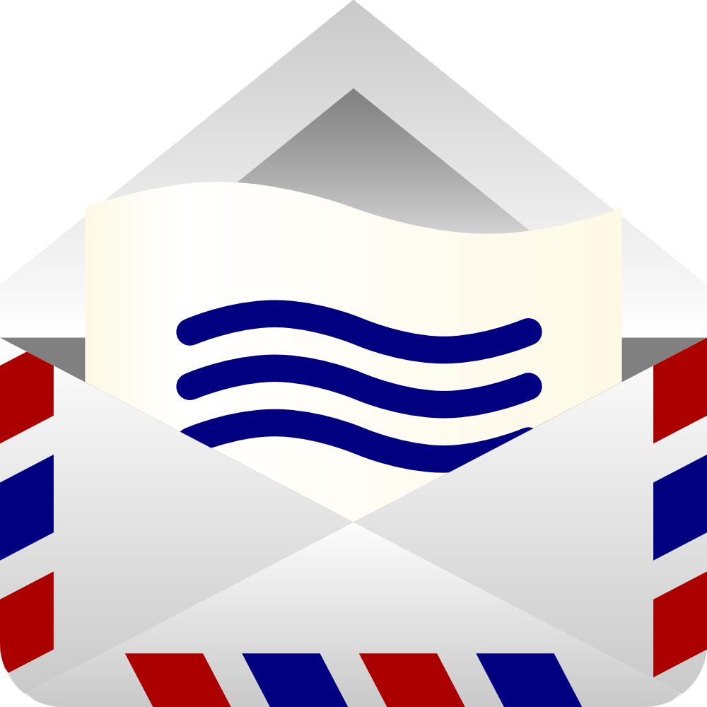 Envelope clipart airmail envelope. Onlinelabels clip art air