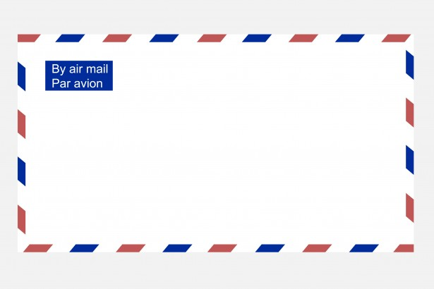 Envelope clipart airmail envelope. Free stock photo public