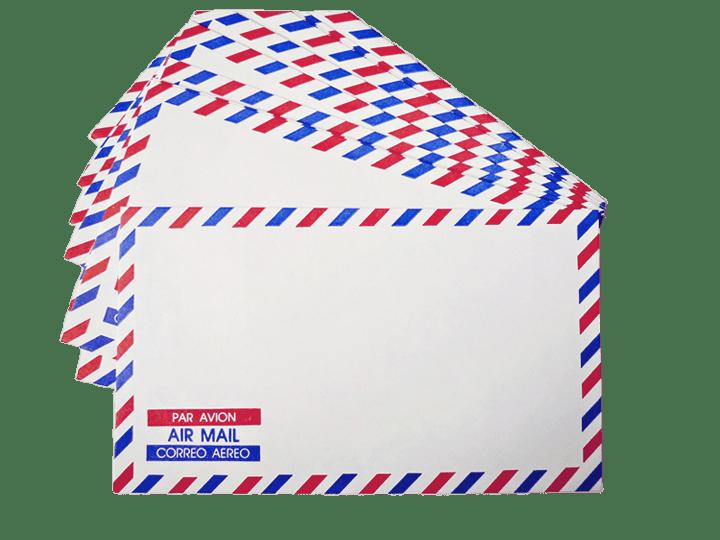 Air mail envelopes transparent. Envelope clipart airmail envelope