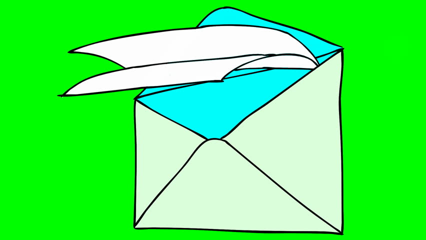 Collection of free download. Envelope clipart animated
