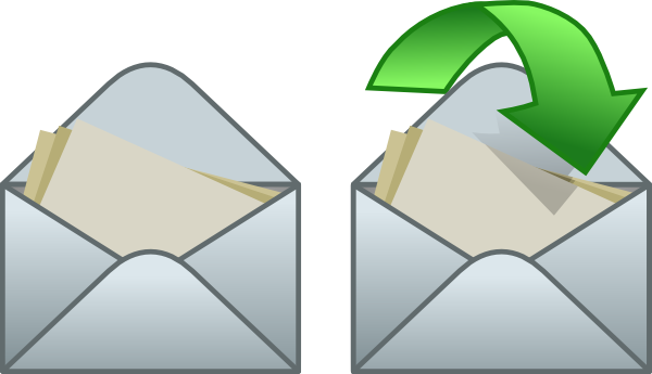 Envelope clipart animated. Clip art at clker
