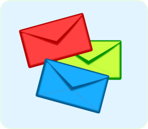 envelope clipart back envelope