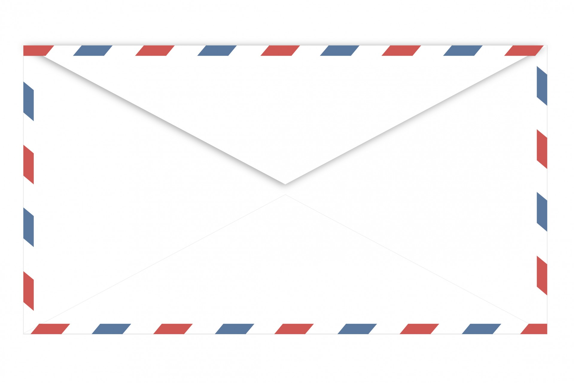 Envelope clipart back envelope. Airmail rear free photo