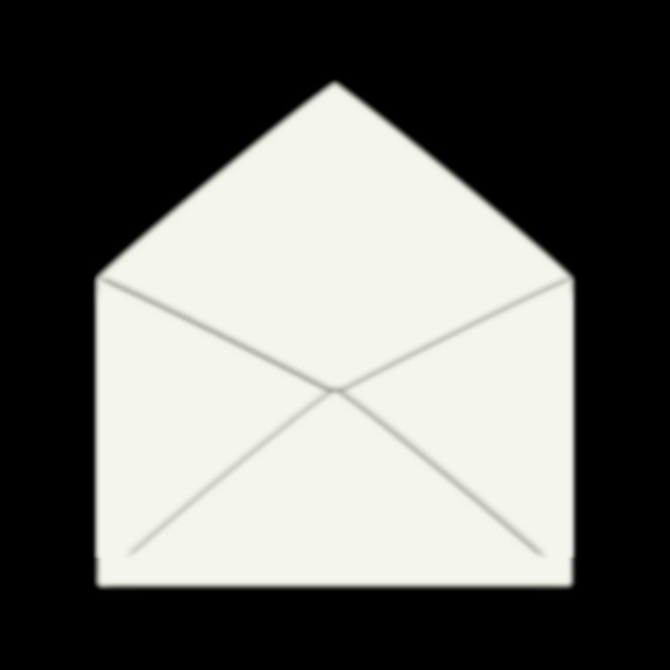 Envelope clipart black and white. Free stock photo illustration