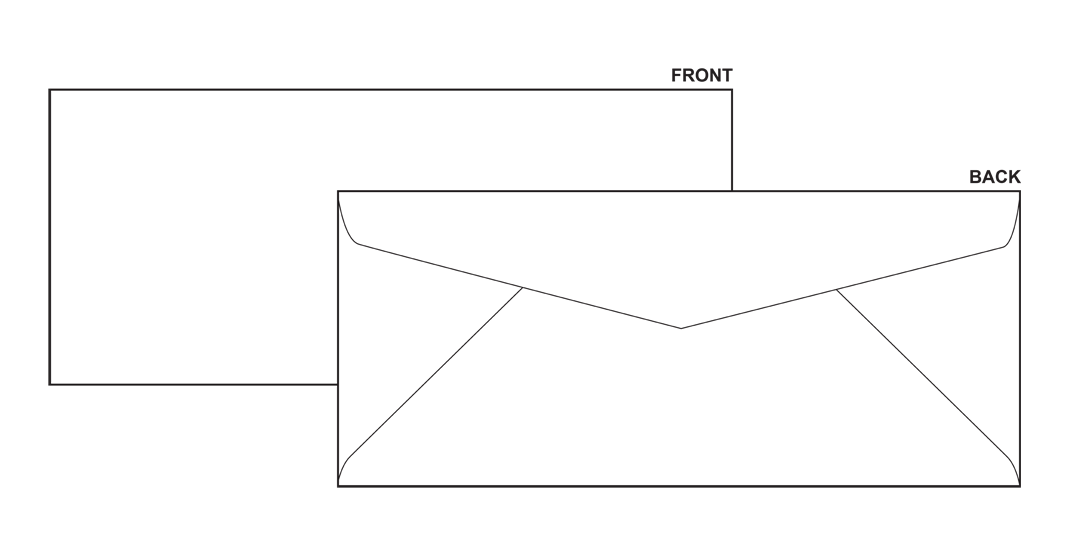 envelope clipart blank envelope